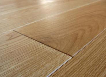Bevel edged flooring